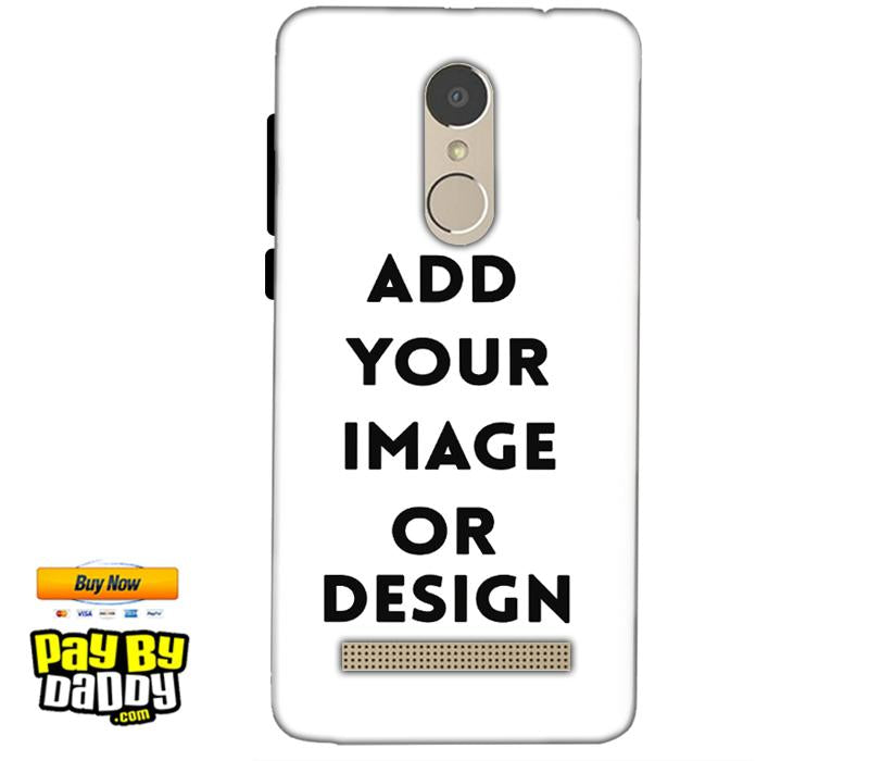 Customized Xiaomi Redmi Note 3 Mobile Phone Covers & Back Covers with your Text & Photo