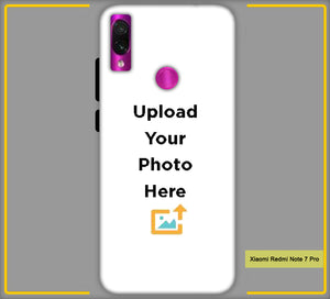 Customized  Xiaomi Redmi Note 7 Pro Mobile Phone Covers & Back Covers with your Text & Photo