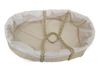 Legacy Handwoven Palm Leaf Organic Bassinet