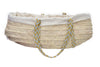 Side Facing Legacy Handwoven Palm Leaf Organic Bassinet