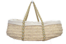 High Quality Legacy Handwoven Palm Leaf Organic Bassinet