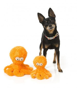 Sir Legs-A-Lot Octopus Plush Dog Toy