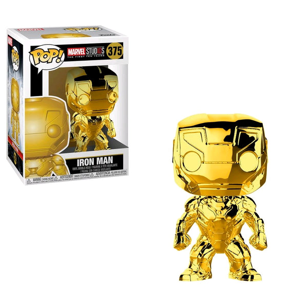 Iron Man Gold Chrome - Marvel Studios 10th Anniversary #375