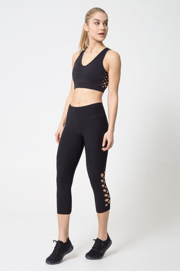 Enlace Macrame-Look Lattice Capri