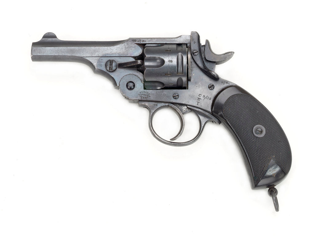 Detail of Webley Mark II revolver by Webley & Scott Revolver & Small Arms Co.