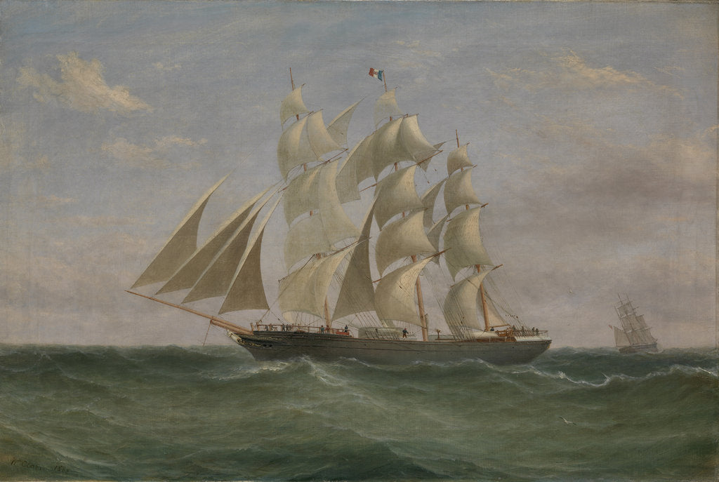 Detail of The Barque: Helen Denny by William Clark