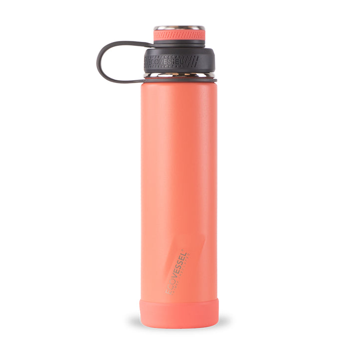 THE BOULDER TriMax Insulated Water Bottle with Strainer - 24 oz