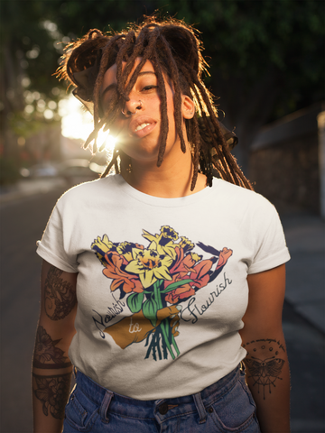 Nourish To Flourish: Unisex Adult Shirt