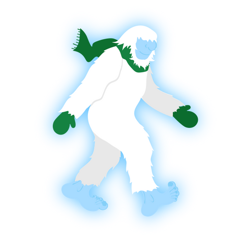 Yeti Mythological Munzee