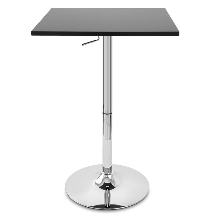 Costa Adjustable Height Pub Table (Black)