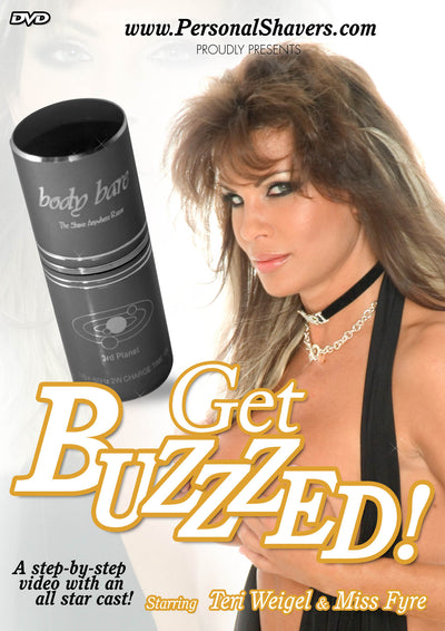 Get Buzzzed Personal Shaver Instructional DVD