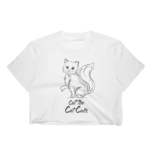 Cut the Cat Calls - Crop Top-Crop Top-Konsnt-Times Up