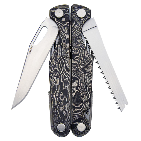 Limited Edition Charge Damascus Handle