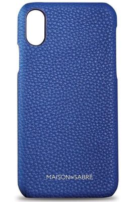 iphone xs max phone case- blue- front