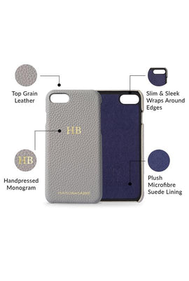 iphone 7/8 phone case- grey- product features