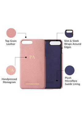 iphone 7/8 plus phone case- pink- product features
