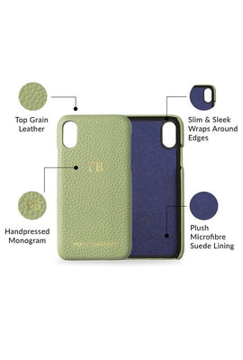 iphone xs max phone case- matcha- product features