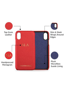 iPhone xr case cell phone cover - product features shot