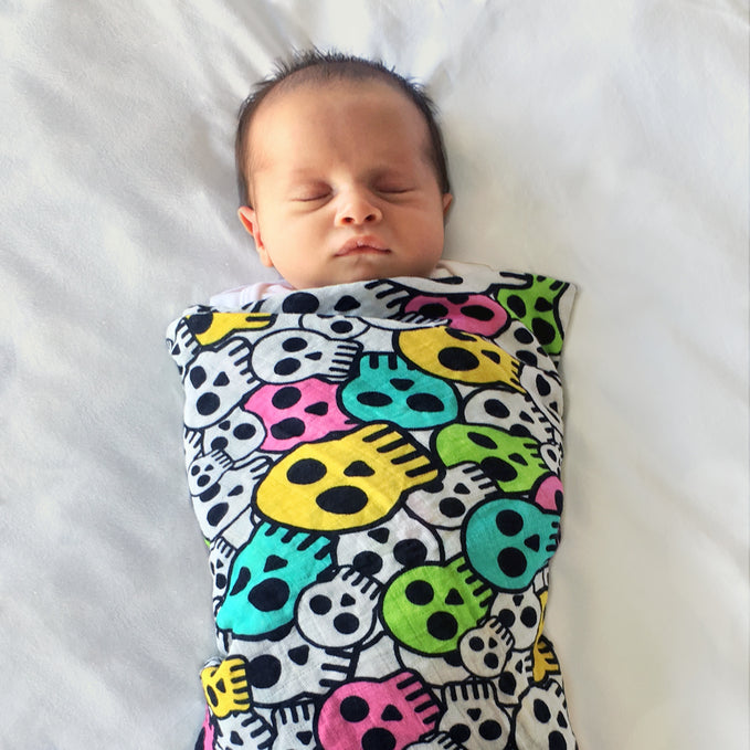 How do I swaddle a baby? A Teeny Rockers guide...