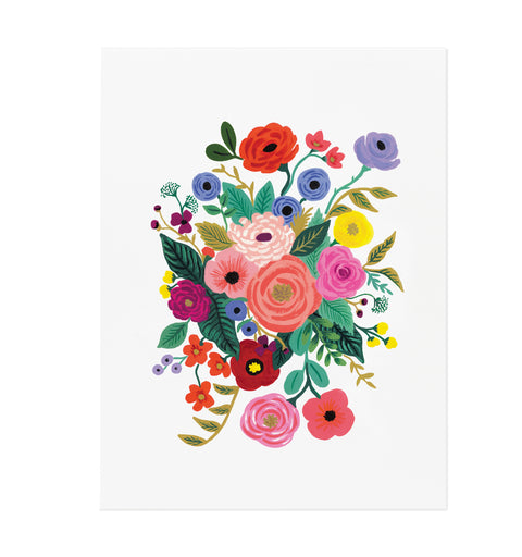 Juliet Rose Bouquet Print,(8×10)