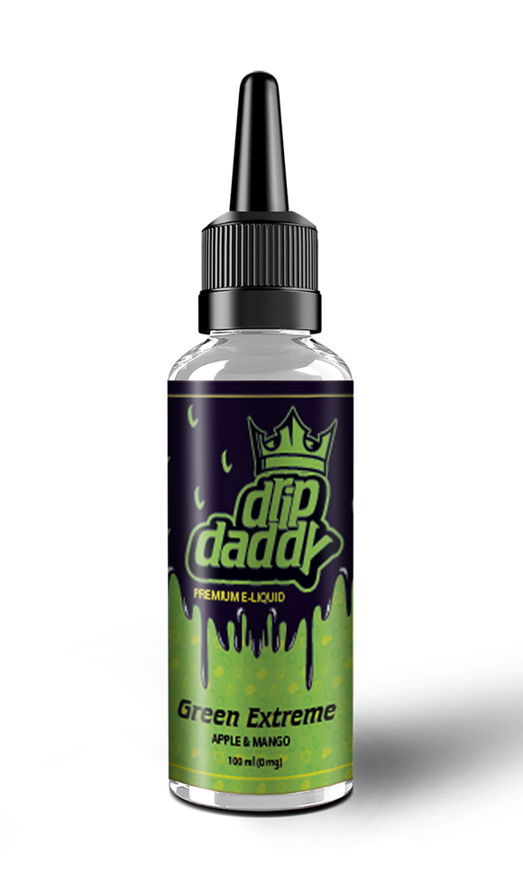 Drip Daddy Green Extreme 80ml (100ml short fill)