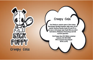 Sick Puppy Creepy Cola 100ml