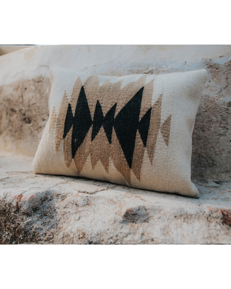Earth and Obsidian Pillow