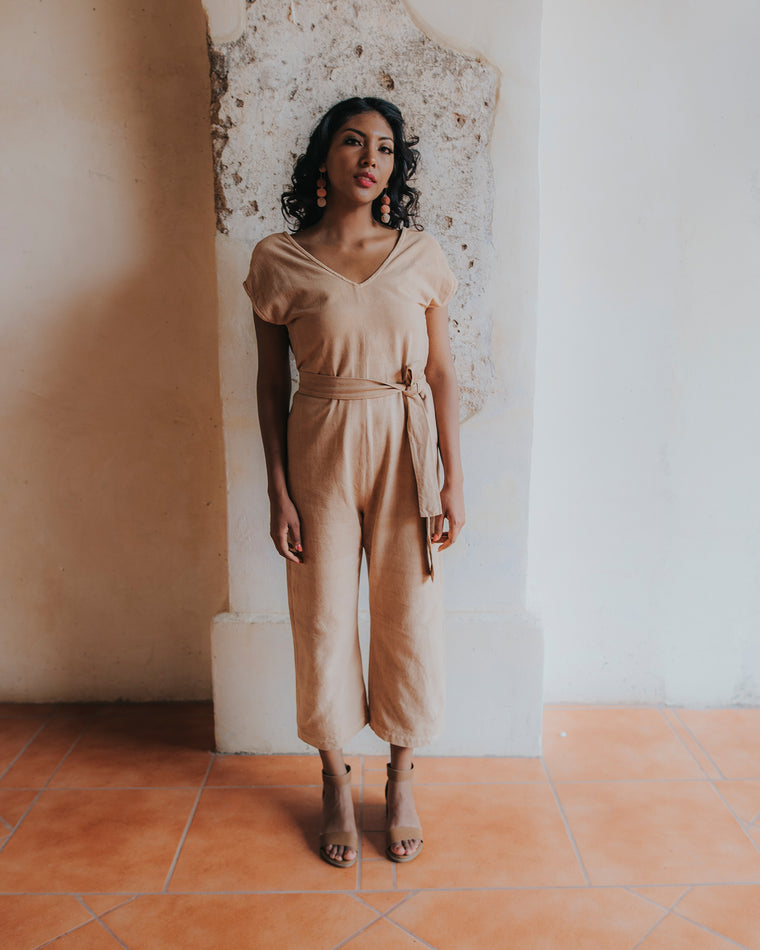 Everyday Jumpsuit - Rose Clay