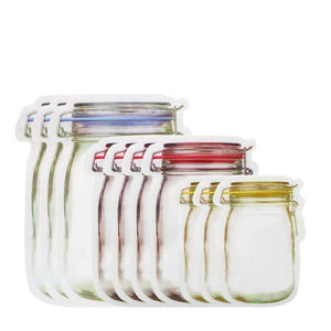 Reusable Jar Bags - 10pcs