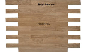 MOSAIC PARQUET, OAK, UNFINISHED, PRIME GRADE