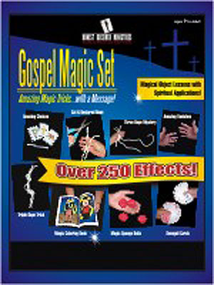 Gospel Magic Kit gret set for spreading the Word