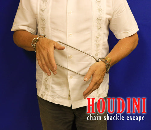 Houdini Chain Shackle escape at Make It Magic