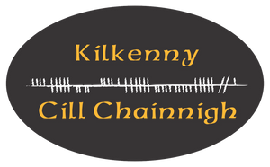 Ogham Art County Killkenny Ireland Bumper Sticker