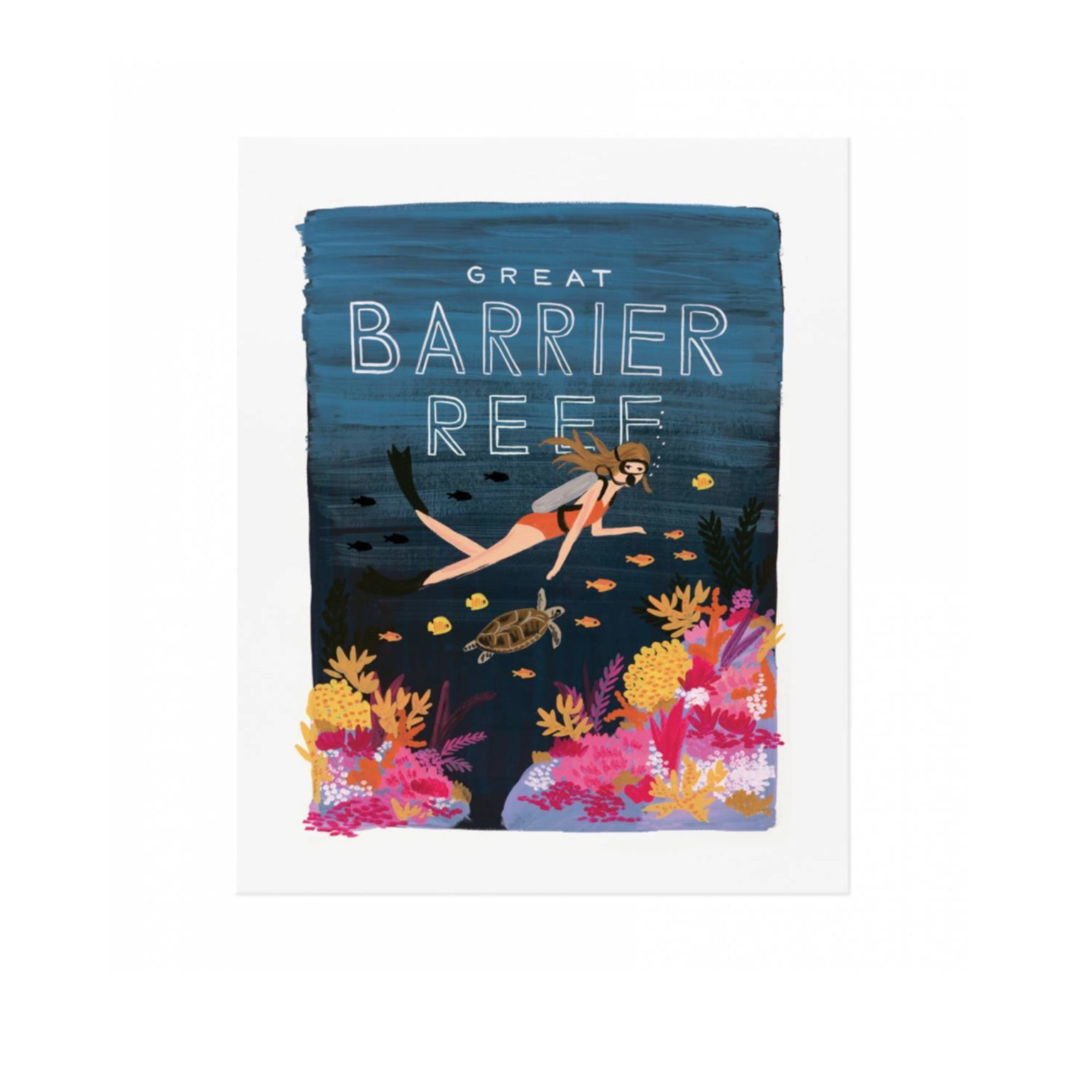 Poster, Barrier Reef