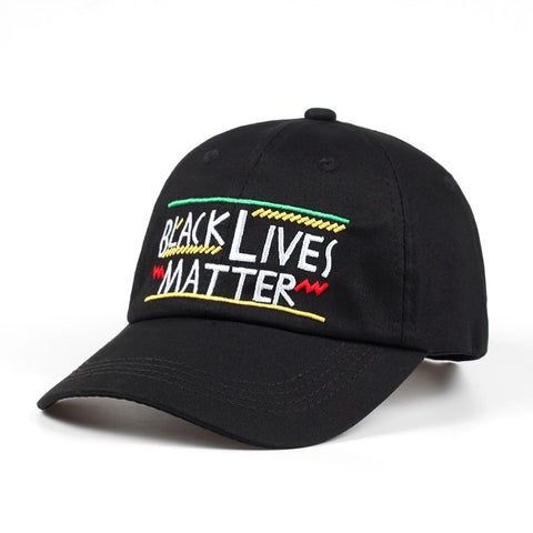 BLACK LIVES MATTER DAD HAT - nonbinaryoutfitters