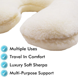 Sherpa Neck Travel Pillow