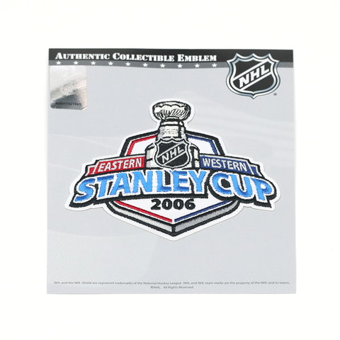 Carolina Pro Shop Carolina Hurricanes Novelties 2006 Stanley Cup Collectible Patch