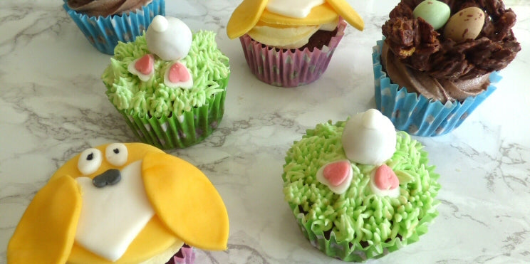 Baking: Easter Cupcake Toppers