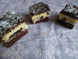 Cookies and Cream Supreme Traybake Cake - Clare's Squares - order  online with free delivery to your door