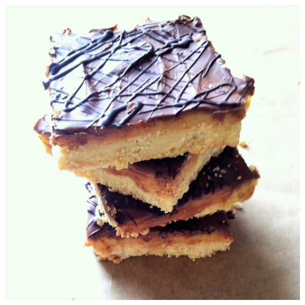 Caramel Shortbread (Box of 4 or 9) - Clare's Squares - order Traybakes online with free delivery to your door