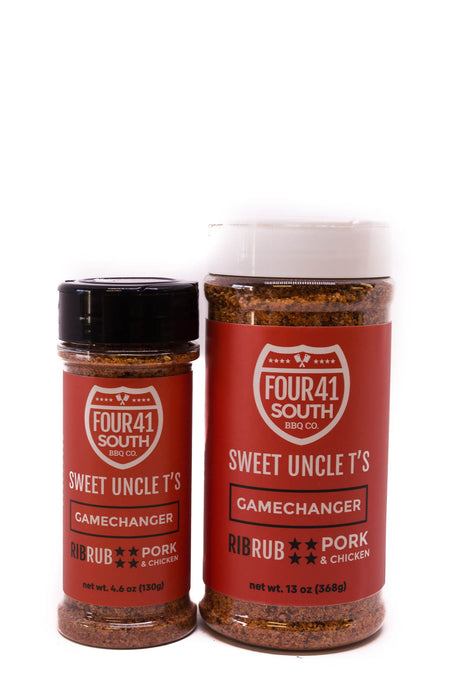 Four 41 South: Sweet Uncle T's Gamechanger Rib Rub Pork & Chicken
