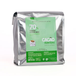 Barra de Chocolate Negro Tumaco 70%