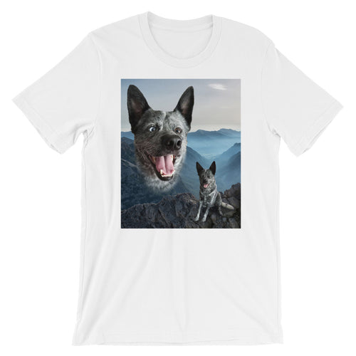 Moose Boy Short-Sleeve Unisex T-Shirt