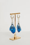 Wren Ombre Drop Disk Earrings