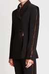 Presedente Asymmetrical Jacket W Front Splits