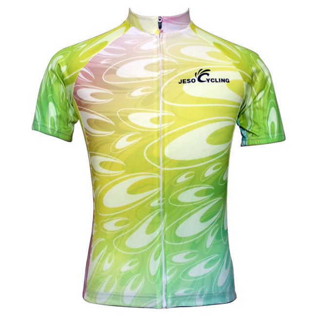 Flowers cycling jersey