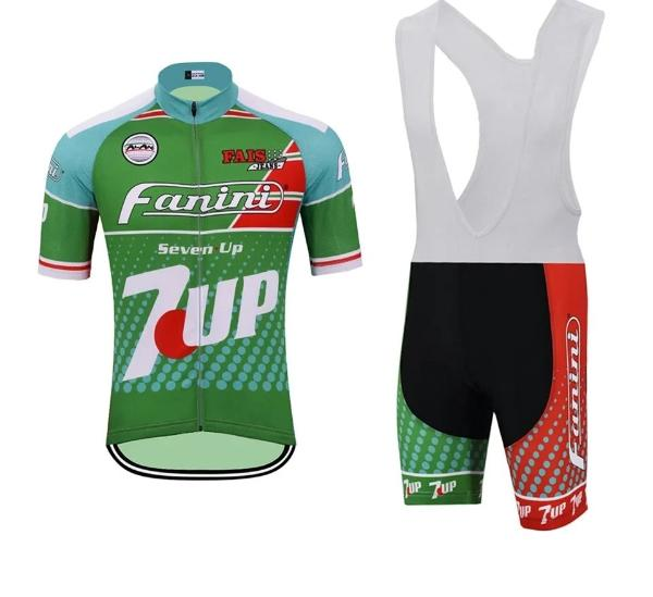 Retro Cycling race suit Fanini- 7up 1988