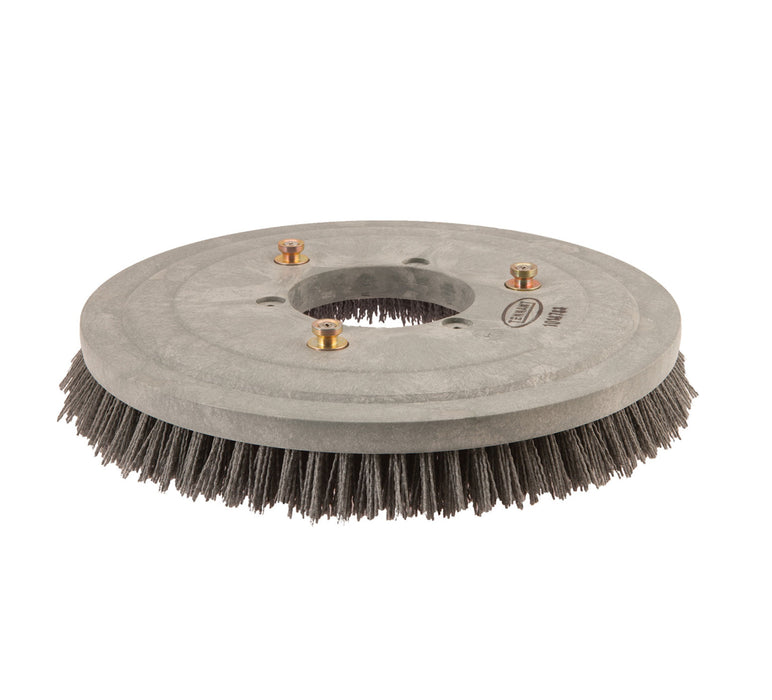 Abrasive Disk Scrub Brush Assembly - 17 in