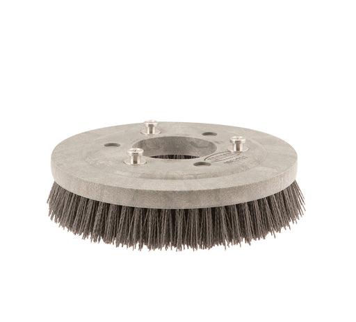 Abrasive Disk Scrub Brush Assembly - 12 in