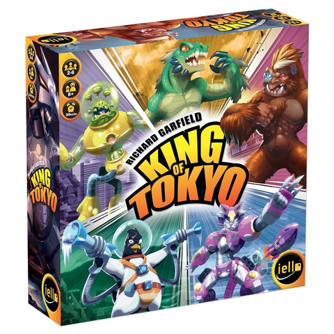 King of Tokyo by Richard Garfield